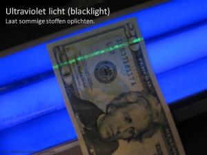 Bankbiljet UV
