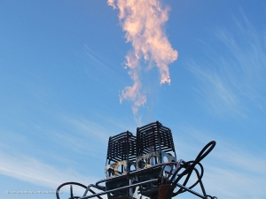 Gasbrander van een Luchtballon