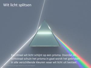 Kleuren Licht Prisma