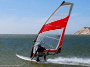 Krachten Windsurfer