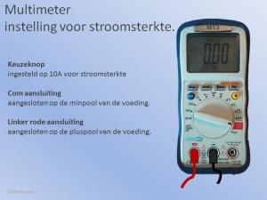 Multimeter Stroomsterkte Meten