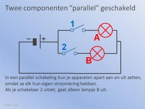Parallelschakeling Schakelaar