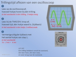 Trillingstijd uit een Oscilloscoop 1